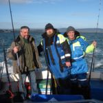 Sea Fishing in Wicklow charter boat anglers