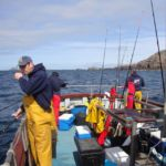 a charter boat out of Carloway