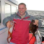 Weymouth plaice fishing Supernova plaice squid