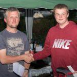 Junior runner-up Daniel Brown