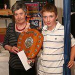 junior champion Josh Campbell