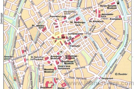 map of brussels tourist attractions » Path Decorations Pictures ...