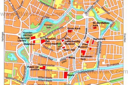 map of groningen with cities and towns map » Full HD MAPS Locations ...
