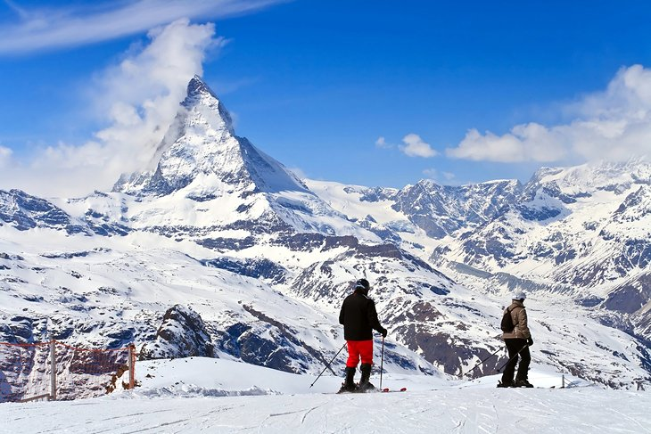 Image result for skiing in switzerland