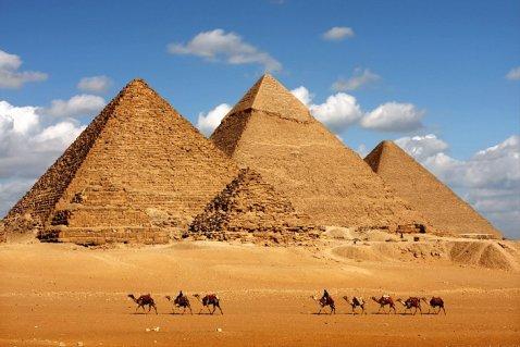 Ahantu hasurwa na ba mukerarugendo cyane kurusha ahandi muri Africa - Pyramids of Giza