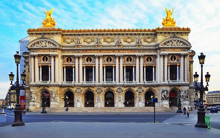 Palais Garnier Opera House & the Bibliotèchque-Musée de l'Opera