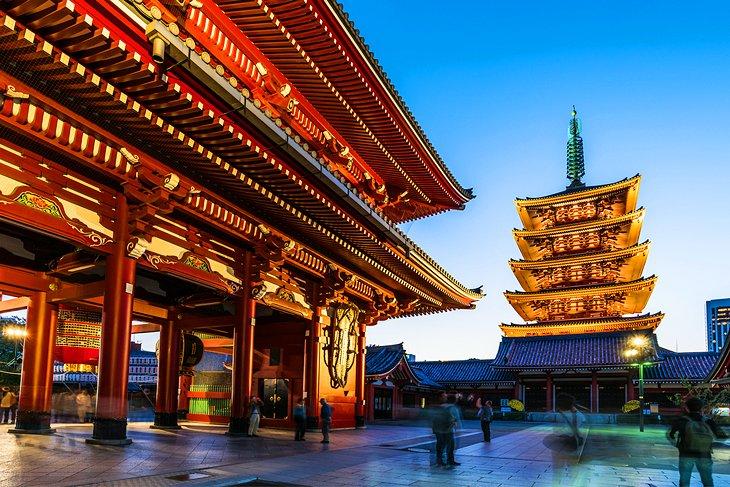 The Sensō-ji Temple