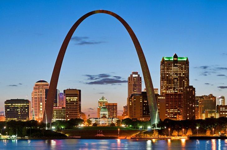 St Louis Arch Missouri