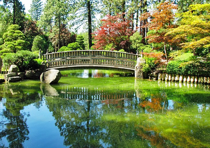 Japanese Gardens, Manito Park