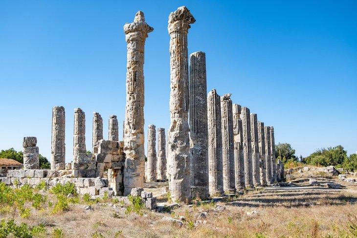 Храм Зевса в Узункабурке