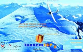 Bon cadeau planeur Lambada au Mont Blanc