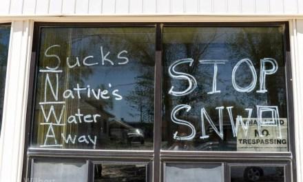 Sucks Native's Water Away; NO to SNWA's Nevada Water Grab