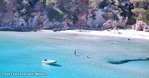 Playa Cala Escorxada Menorca