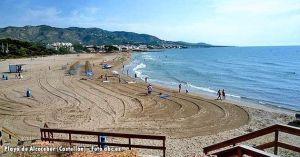 Playa de Alcoceber en Castellón