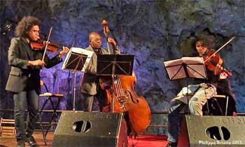 Concierto cuevas de Canelobre, en Busot (Alicante)