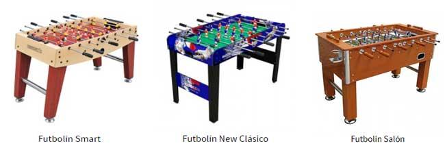 Futbolines de mesa