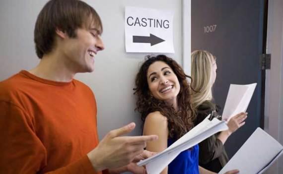 Castings en televisión y cine