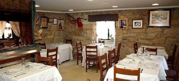 Interior Restaurante a Chabola
