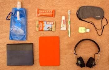 Cosas imprescindibles en la maleta