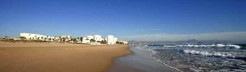 Playa Saladar Urbanova Alicante