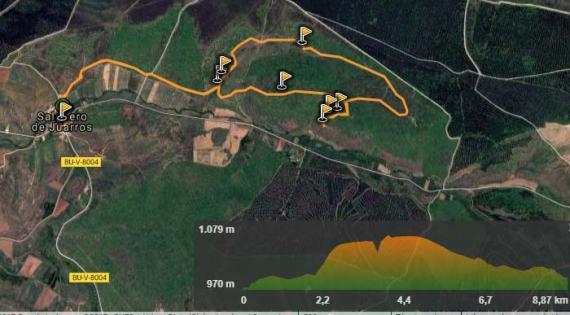 Ruta todoterreno por la Sierra de Atapuerca