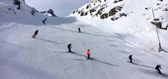Pistas de esquí en Jaca