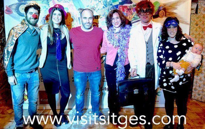 Previo al Carnaval de Sitges