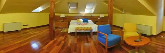 Hotel romántico en Sepulveda