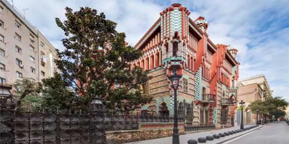 Ubicación Casa Vicens