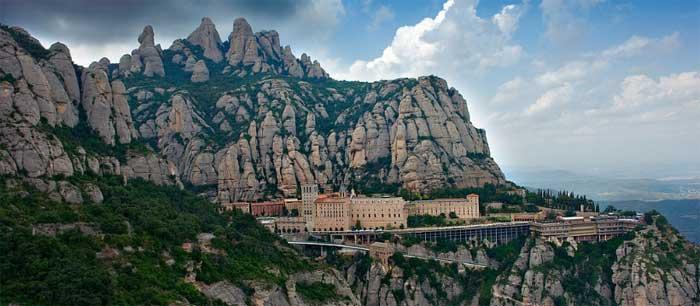 Ruta moto Monasterio Montserrat