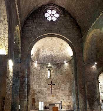 Iglesia San Vicenc Besalu