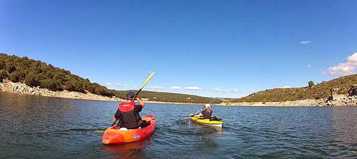 Kayak Embalse del Burguillo