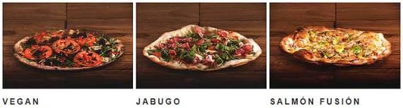 Pizzas novedosas