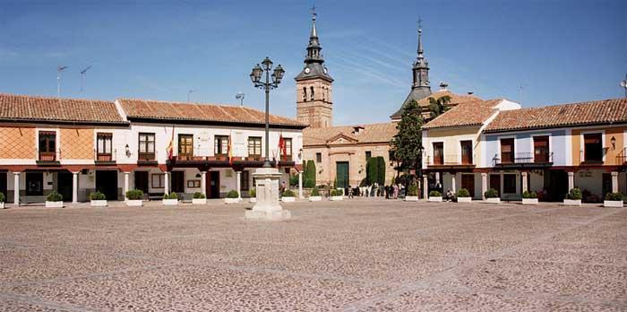 Plaza de Segovia Navalcarnero