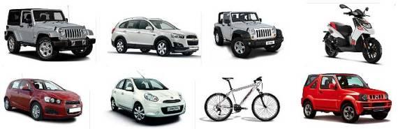 Tipos de coches alquiler aeropuerto Ibiza