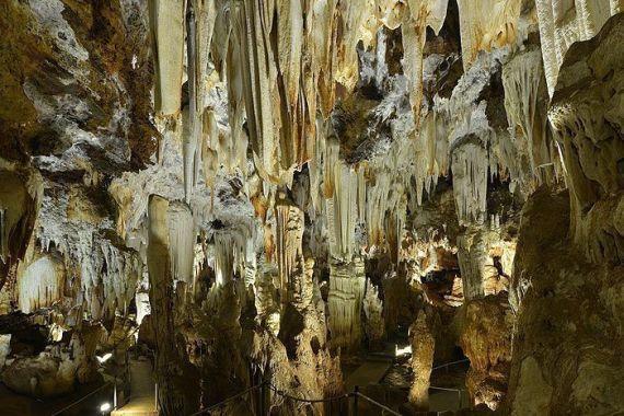 Estalacticas Cuevas del Águila