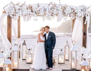 Orquídeas blancas para una boda
