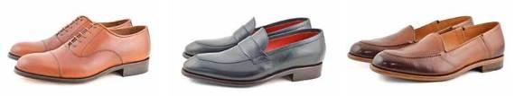 Zapatos artesanales para salir de noche