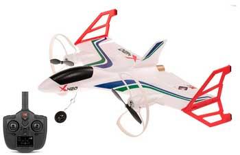 Avión X420 despegue vertical