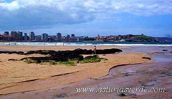 Playa de San Lorenzo, Gijón
