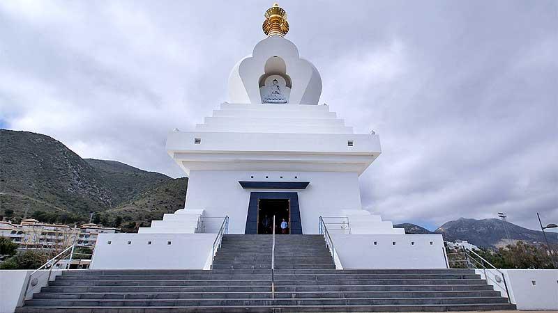 Estupa templo budista Benalmádena