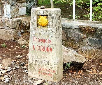 Hito provincia  A Coruna