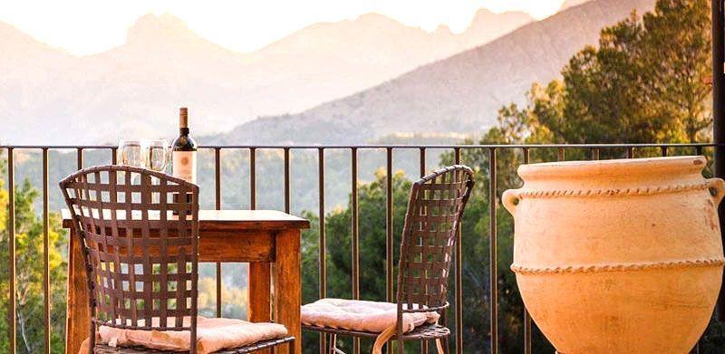 Escapada romántica en hotel rural