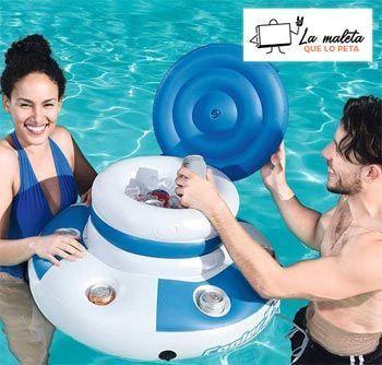 Nevera flotante para piscinas