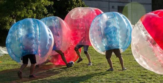 Bubble Fútbol en Chiclana