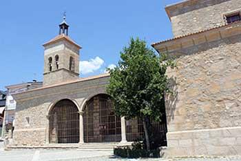 Iglesia parroquial San Sebastián en Cercedilla
