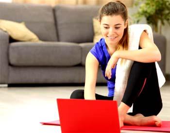Clases de fitness en casa