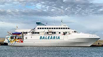 Ferry Denia Formentera