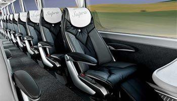 Viajar seguro en autobús