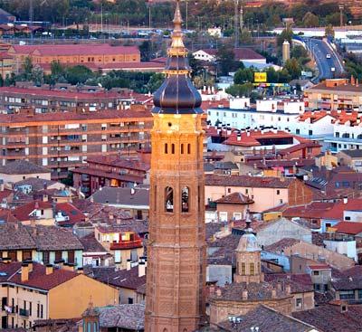Torre Mudéjar Santa María en Catalayud